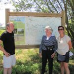 Bezoek van Mevrouw Kok aan Natuurpunt Markvallei